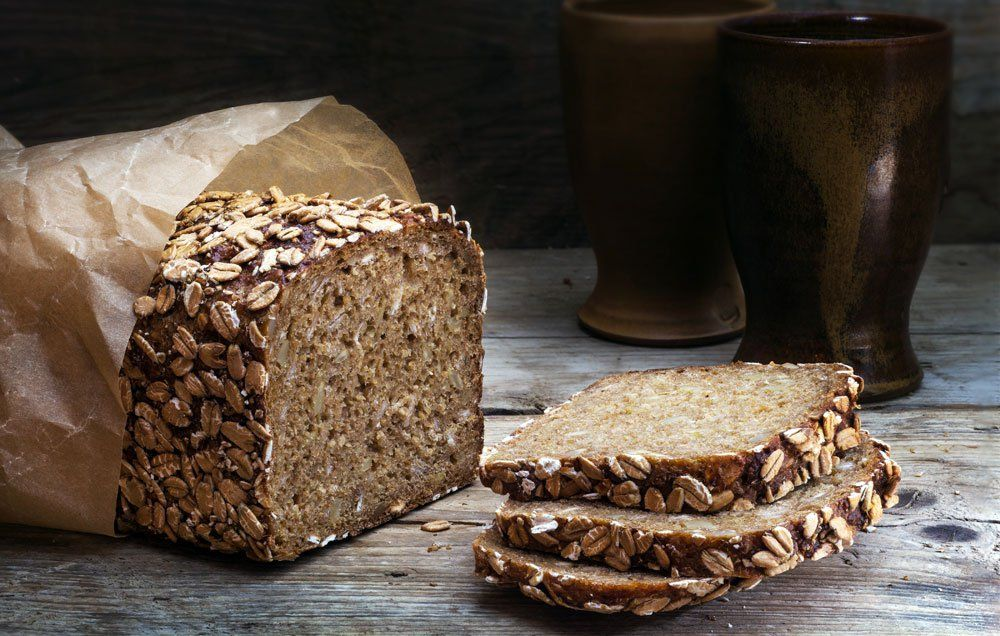 healthy organic bread sprouted grain