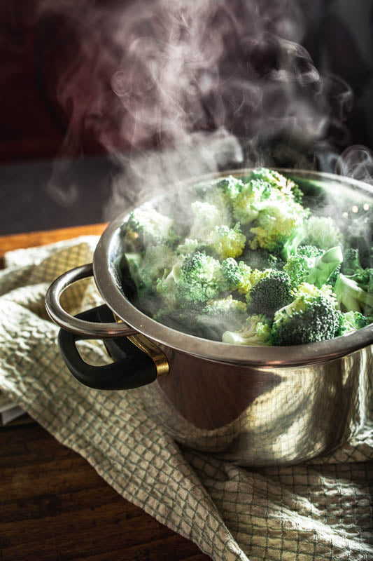 how to steam vegetables and broccoli san francisco bay area
