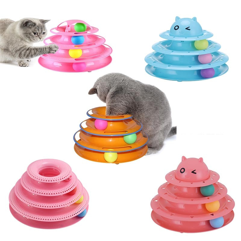 Cat Intelligence Triple Play Disc
