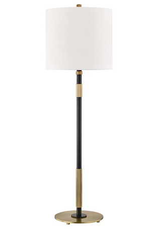 "Hudson Valley Lighting Bowery Single Light 32"" Tall Accent Table Lamp"