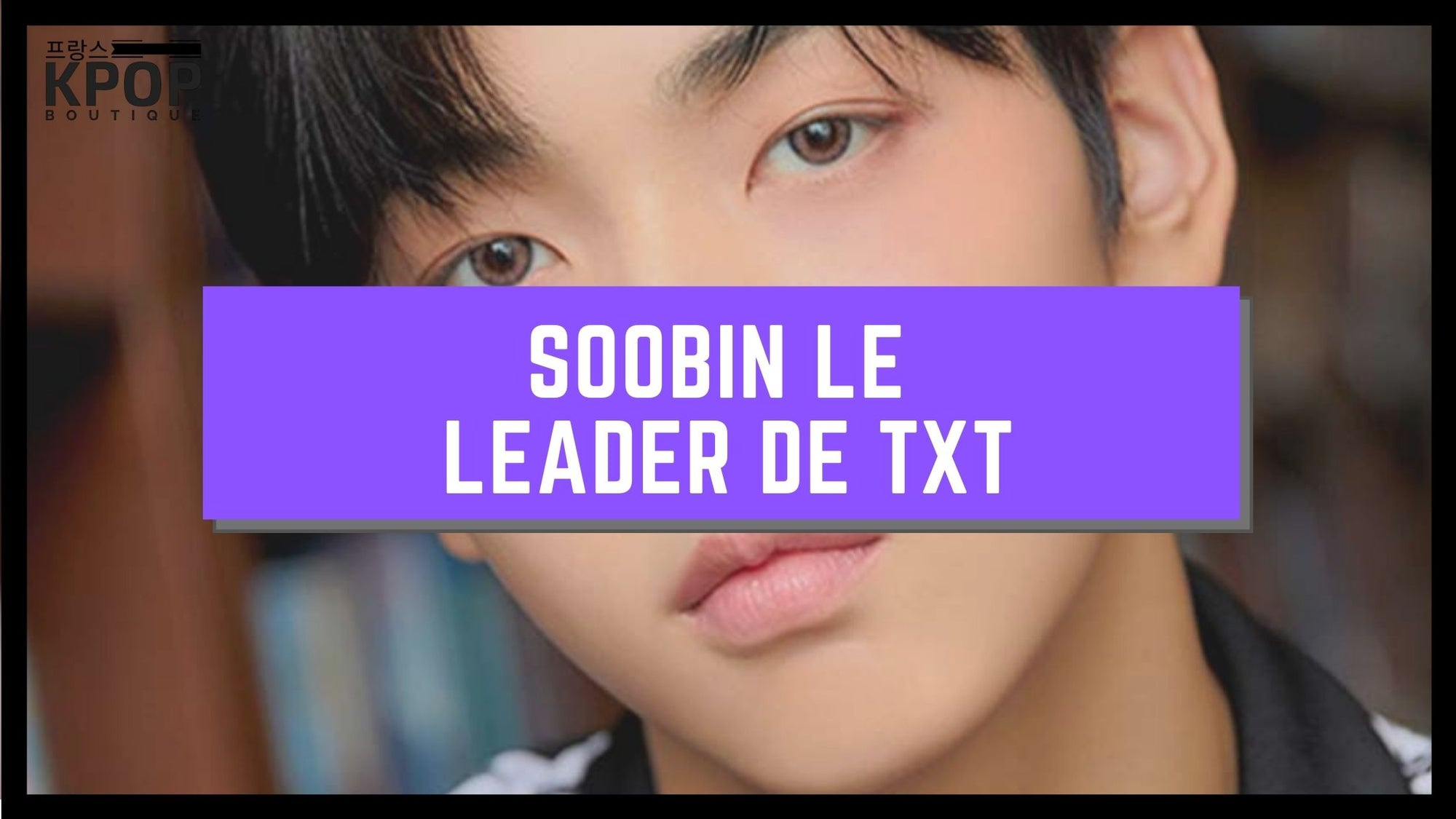 Soobin TXT Carriere