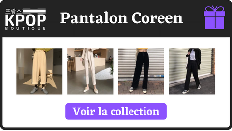 pantalon coreen