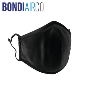 Presale: Black Valveless Anti Air Pollution Mask & 2 Filters Set