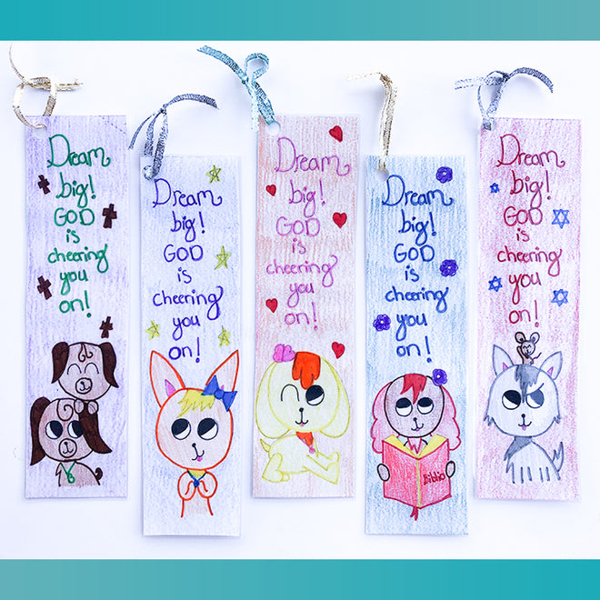 Bookmarks (Dream Big!)