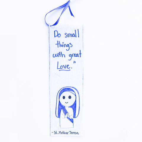 St. Mother Theresa Bookmark