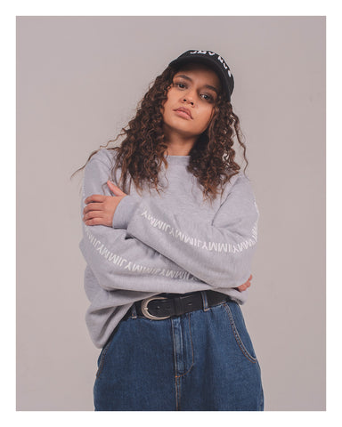 Grey Unisex Sweatshirt