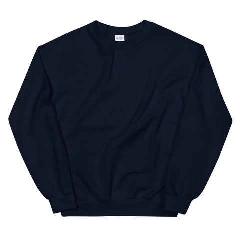 Basic Navy Unisex Sweatshirt