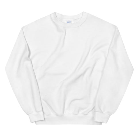 Basic White Unisex Sweatshirt