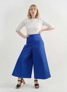 Round Pocket Pant - Royal