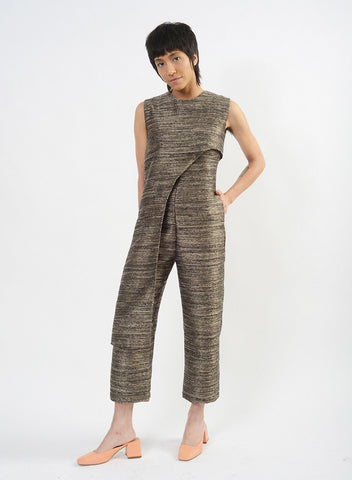 Baroque Jumpsuit - Black Multi