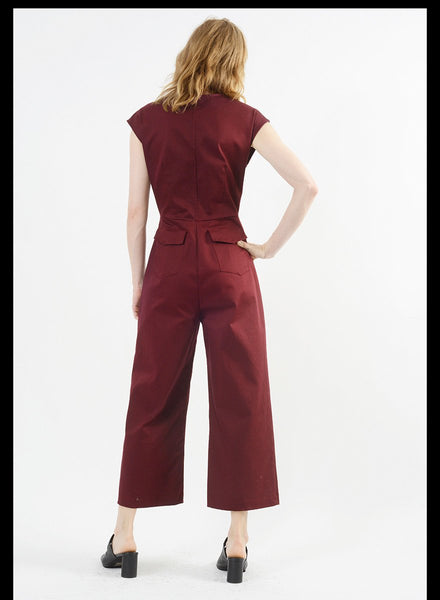 Form Jumpsuit - Cardinal