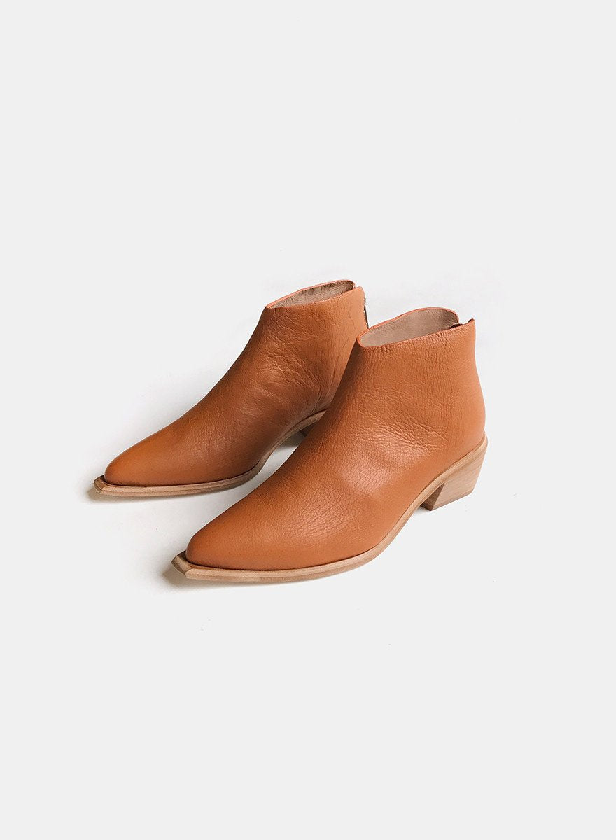 Wal & Pai - West Bootie - Burnt Sienna