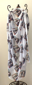 Scarf - Cobb & Co Horses - Outback Creative Gifts