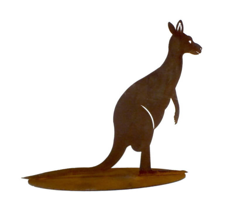 Large Kangaroo Stand Garden Art - Outback Creative Gifts