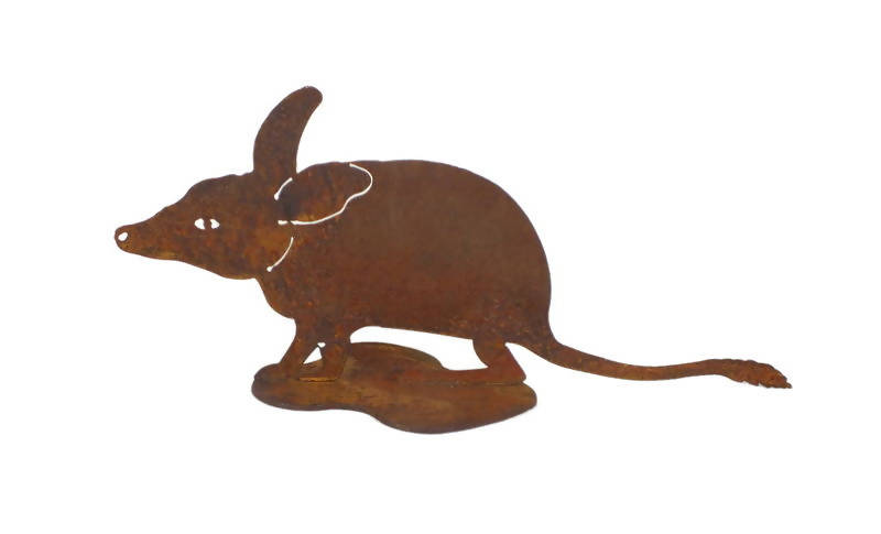 Bandicoot on Stand Garden Art - Outback Creative Gifts
