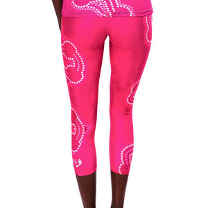 Songlines Womens 3/4 Leggings - Outback Creative Gifts