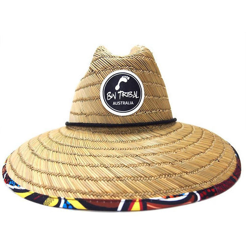 Crocodile Dreaming Adult Straw Hat - Outback Creative Gifts