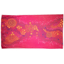 Load image into Gallery viewer, Desert Flower Sarong - Outback Creative Gifts