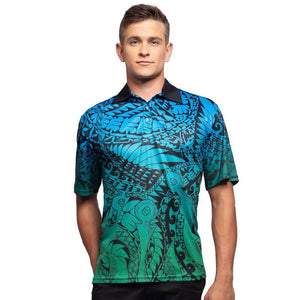 Coconut Shell Men's Polo - Outback Creative Gifts