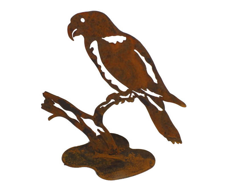 Rosella Stand Garden Art - Outback Creative Gifts