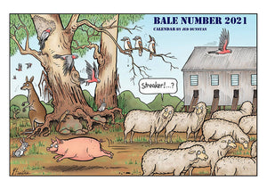 Bale Number 2021 - Outback Creative Gifts