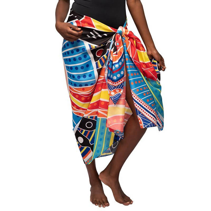 Two Parties Sarong - Outback Creative Gifts