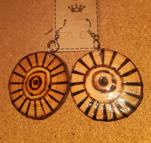 """THE SUN"" Earrings - Outback Creative Gifts"