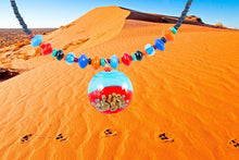 Load image into Gallery viewer, 'Dingo Tracks On Big Red' Necklace - Outback Creative Gifts
