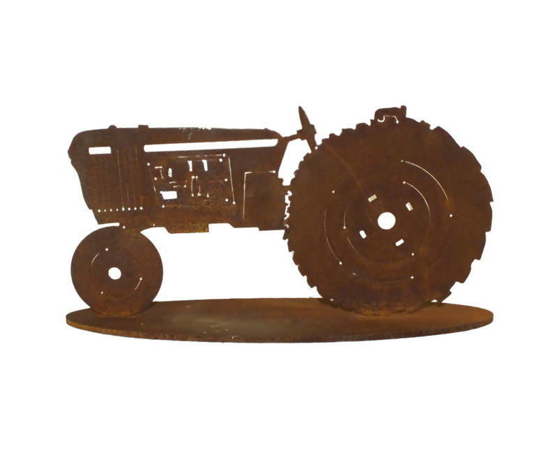 Tractor Stand Garden Art - Outback Creative Gifts