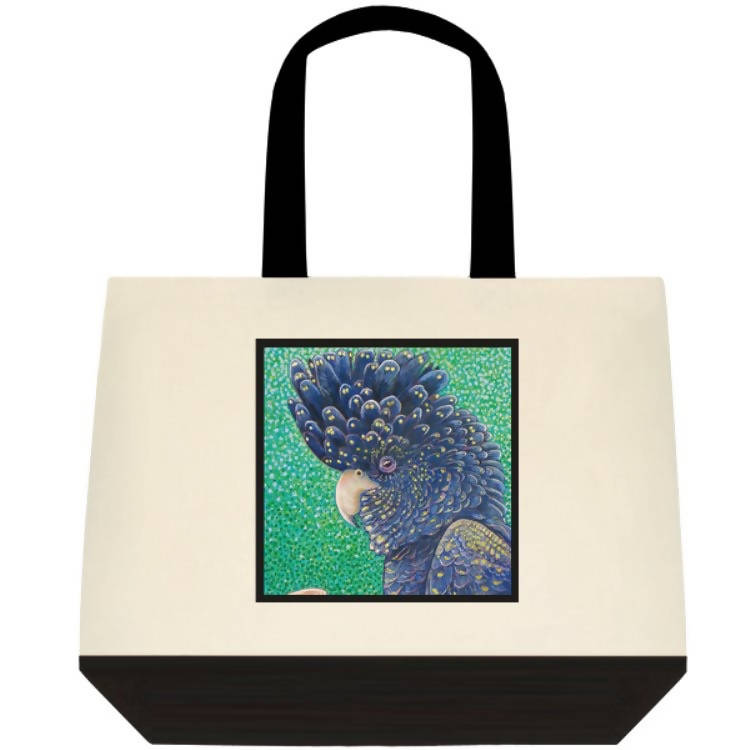 Black Cockatoo Tote Bag - Outback Creative Gifts