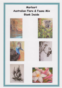 Blank Greeting Card Set - Flora & Fauna - Outback Creative Gifts