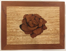 Load image into Gallery viewer, Rose Marquetry Keepsake Box - Outback Creative Gifts