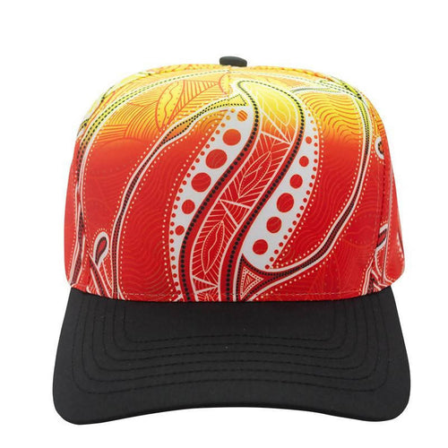Red Seashells Cap - Outback Creative Gifts