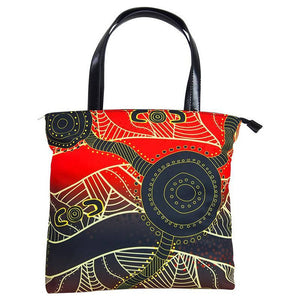 Waterholes Handbag - Outback Creative Gifts
