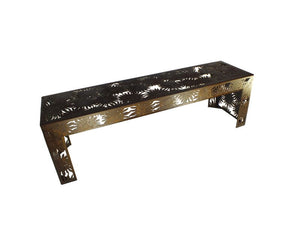 Sunflower Metal Garden Bench Seat - Outback Creative Gifts