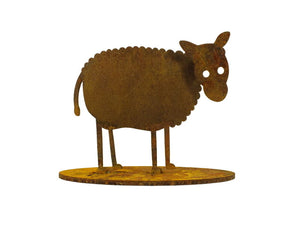 Lamb Stand Garden Art - Outback Creative Gifts