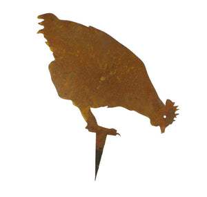 Chook Stake 3 Garden Art - Outback Creative Gifts