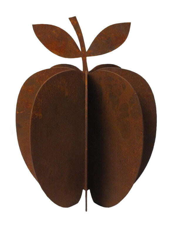 Apple Large Metal Garden Art Sculpture - Outback Creative Gifts