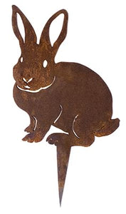 Rabbit Wedge Stake Garden Art - Outback Creative Gifts