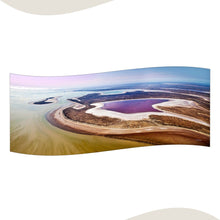 Load image into Gallery viewer, 'Lake Eyre Kati Thanda Chiffon' Scarf - Outback Creative Gifts