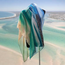 Load image into Gallery viewer, 'Sand and Sea' Scarf - Outback Creative Gifts