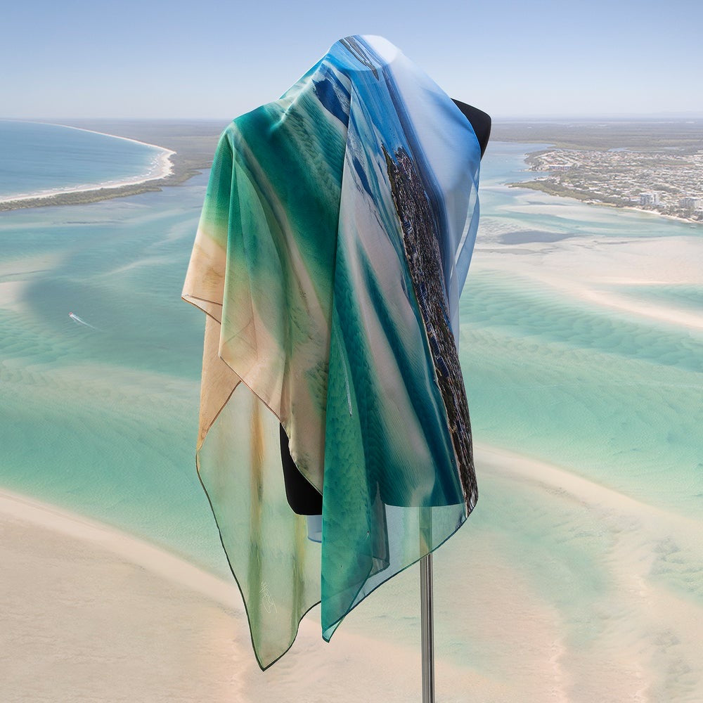 'Sand and Sea' Scarf - Outback Creative Gifts