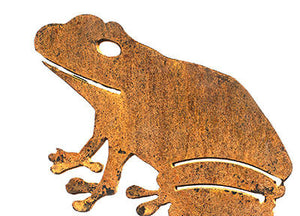 Frog Wedge Stake - One Garden Art - Outback Creative Gifts