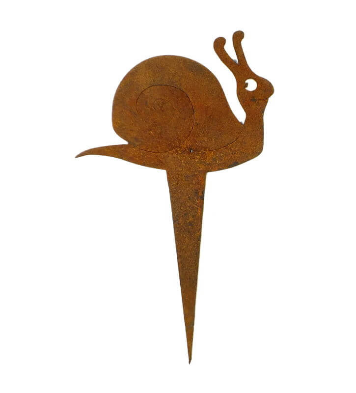 Snail Stake Garden Art - Outback Creative Gifts