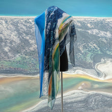 Load image into Gallery viewer, 'Australian Coastline' Scarf - Outback Creative Gifts