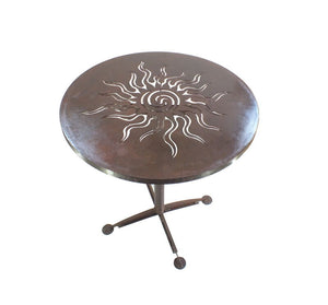 Celtic Sun Cafe Table Garden Art - Outback Creative Gifts