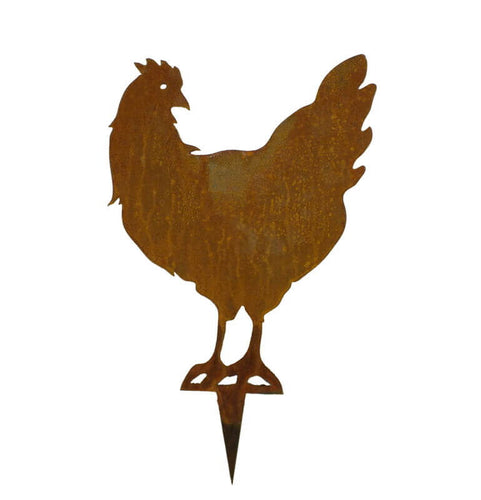 Chook Stake 2 Garden Art - Outback Creative Gifts