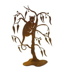 Ringtail Possum Stand Garden Art - Outback Creative Gifts