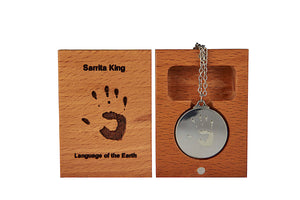 Pendant | Language of the Earth | Sarrita King - Outback Creative Gifts