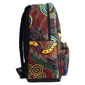 Crocodile Dreaming Backpack - Outback Creative Gifts